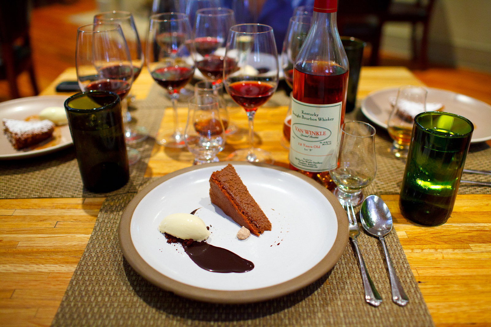 12th Course: Chocolate and mocha pie