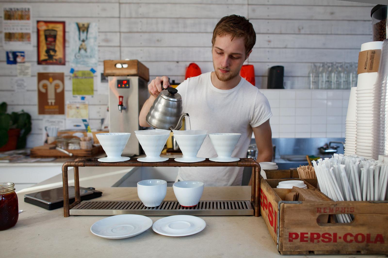 Pour over Intelligentsia coffee ($3.55)