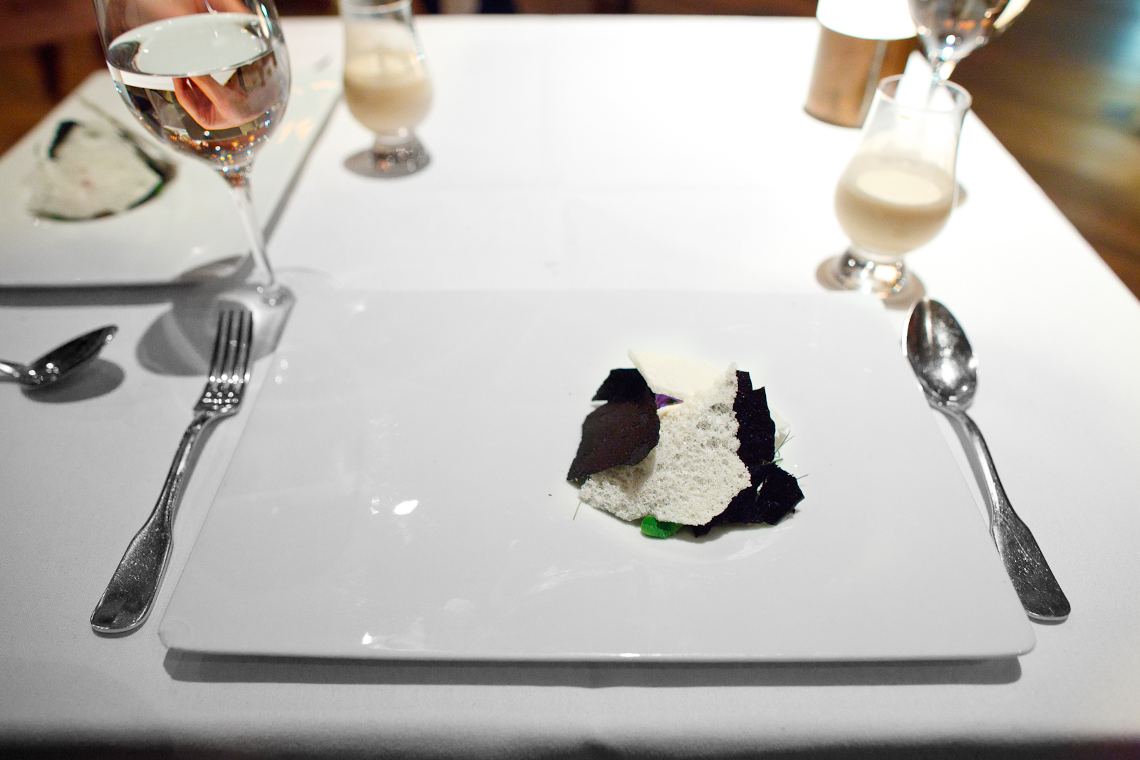10th Course: Cookies and cream