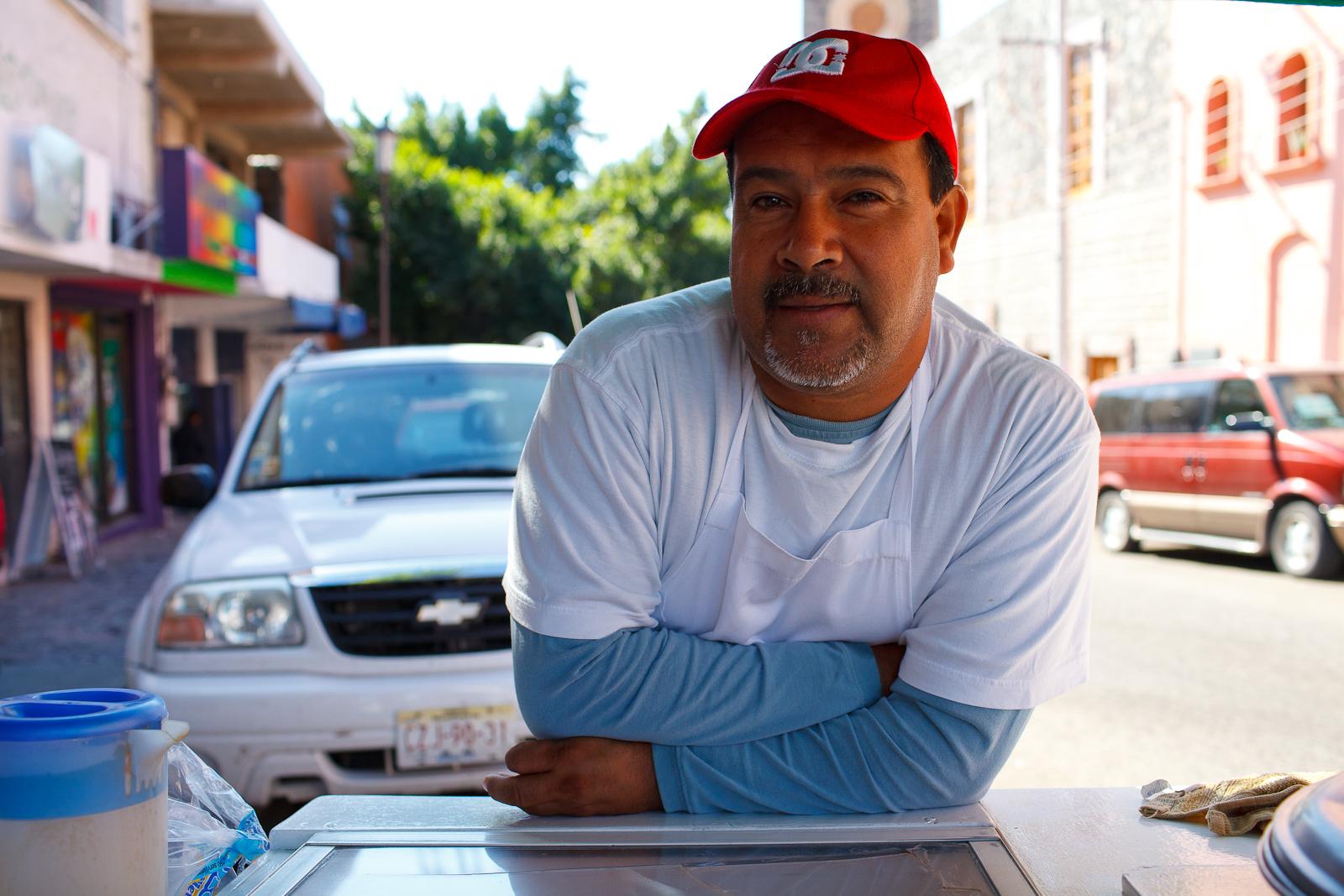 Portrait of Taquero Belizario Domínquez