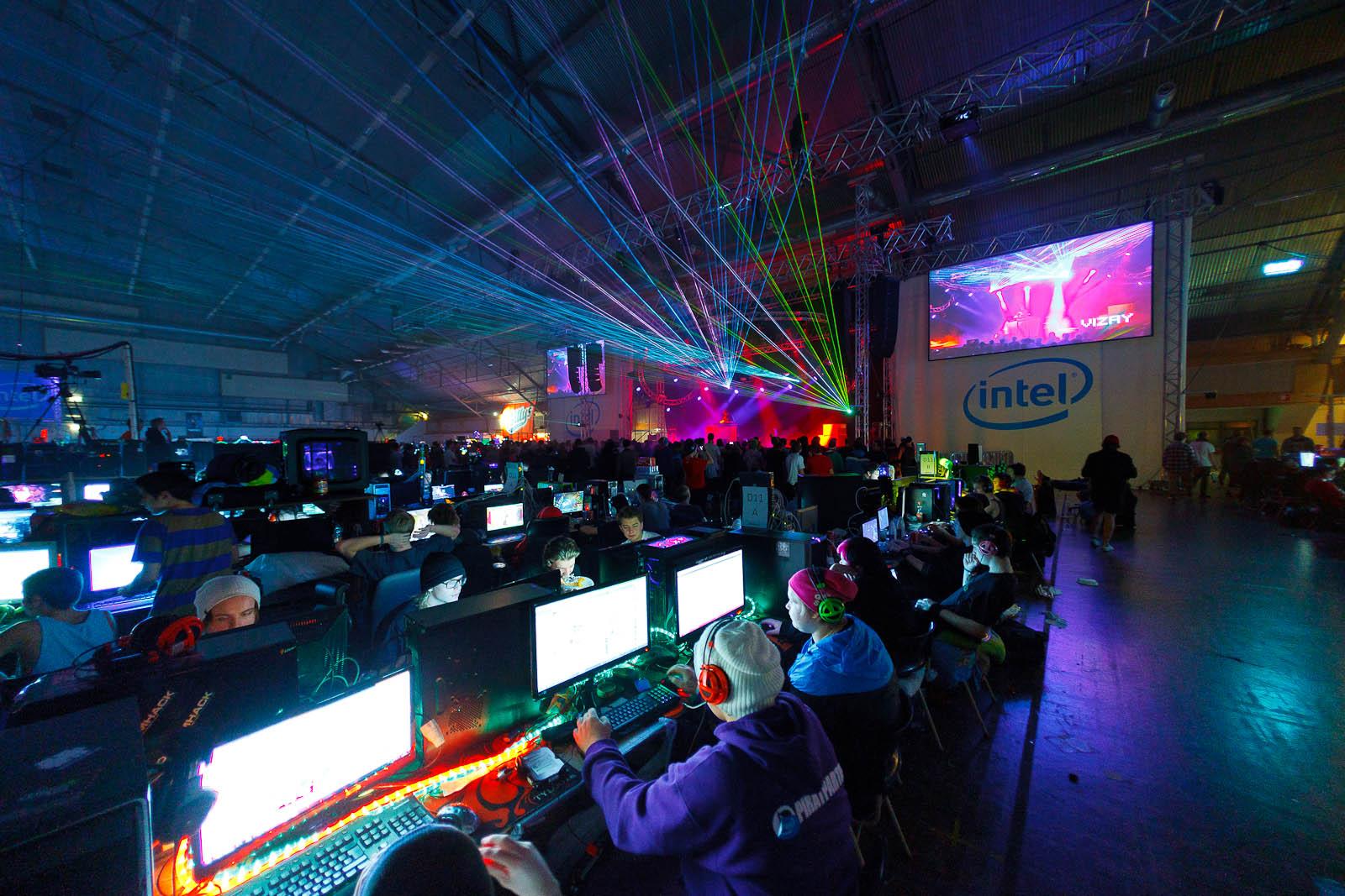 Gaming and dancing