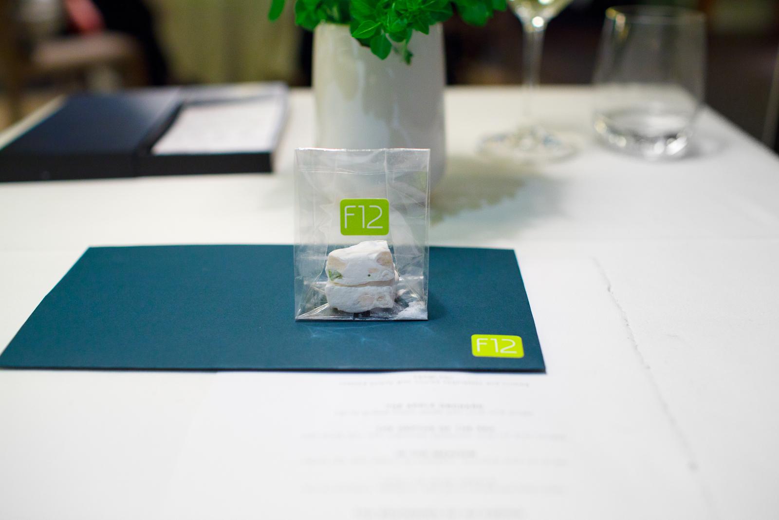 Take-home: pistachio nougat