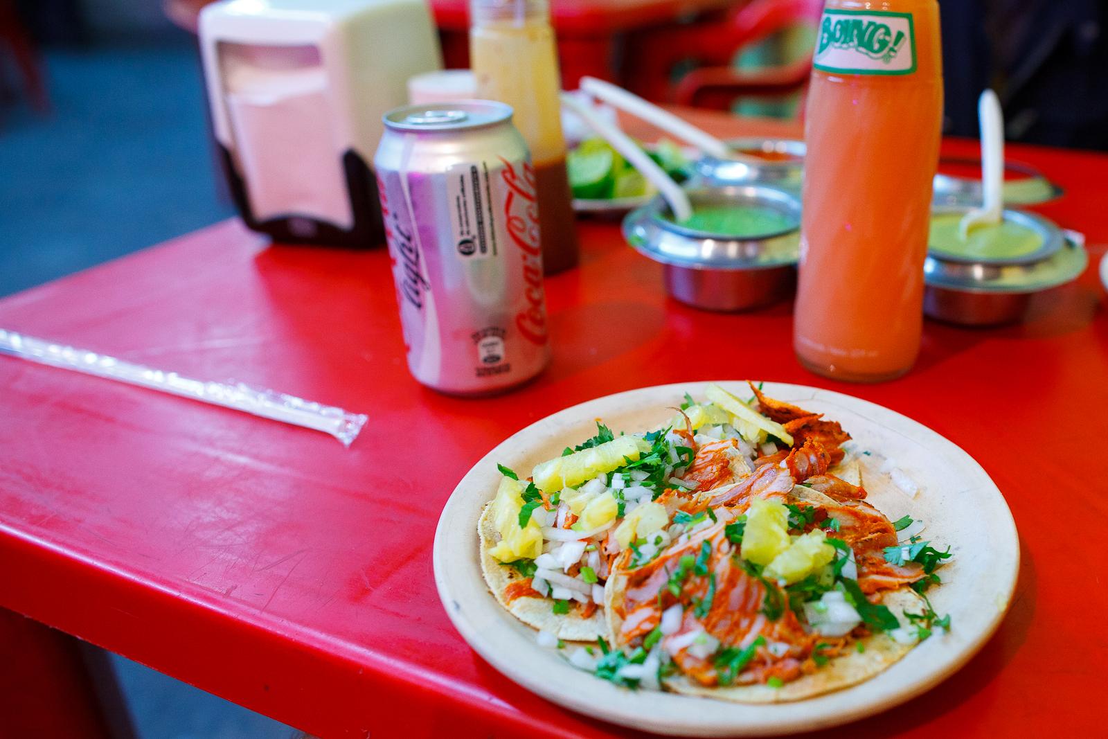 Tacos al Pastor (25MXP)