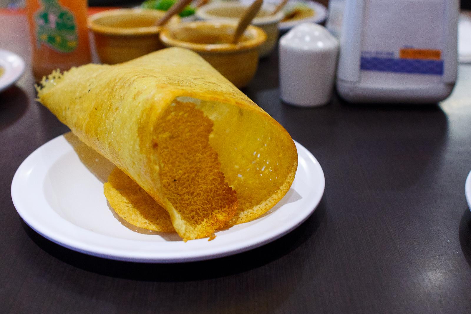 Chicharrón de queso (fried cheese)