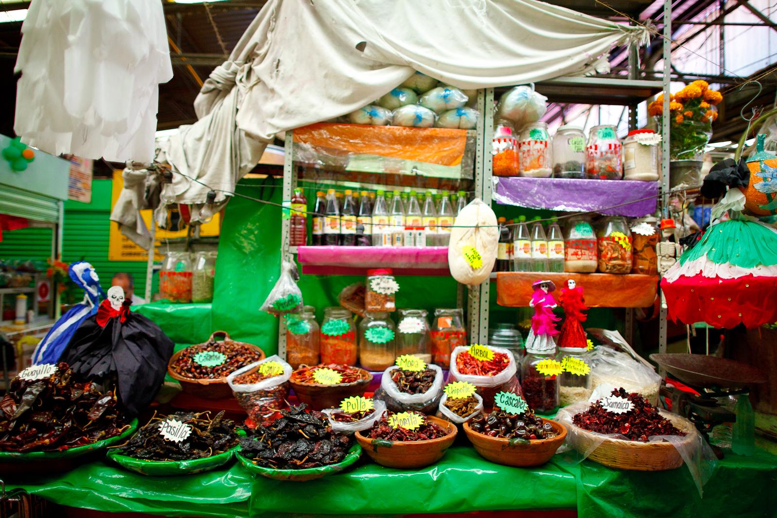 Chiles en el Mercado Lázaro Cárdenas.jpg
