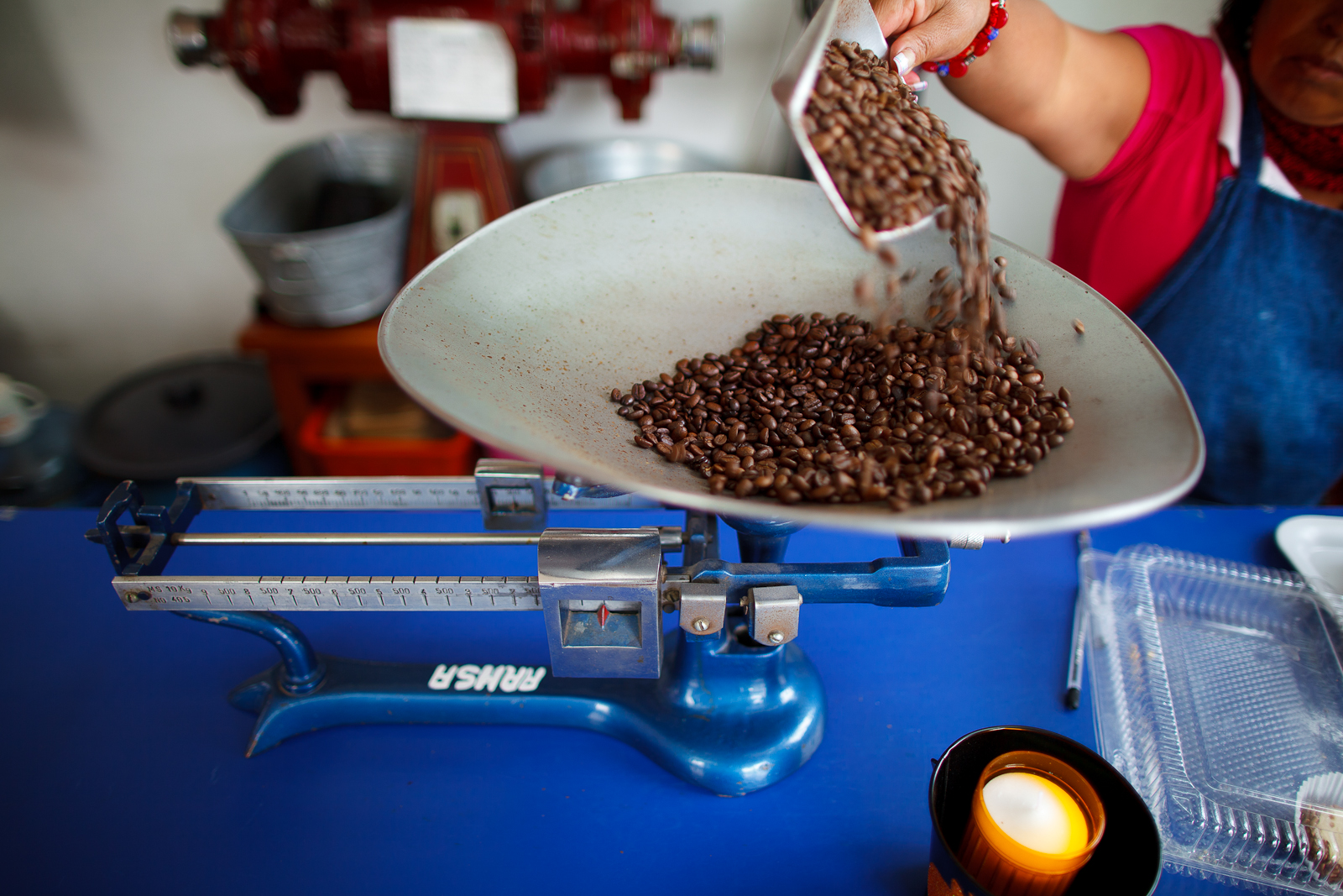 Single origin beans from Chiapas