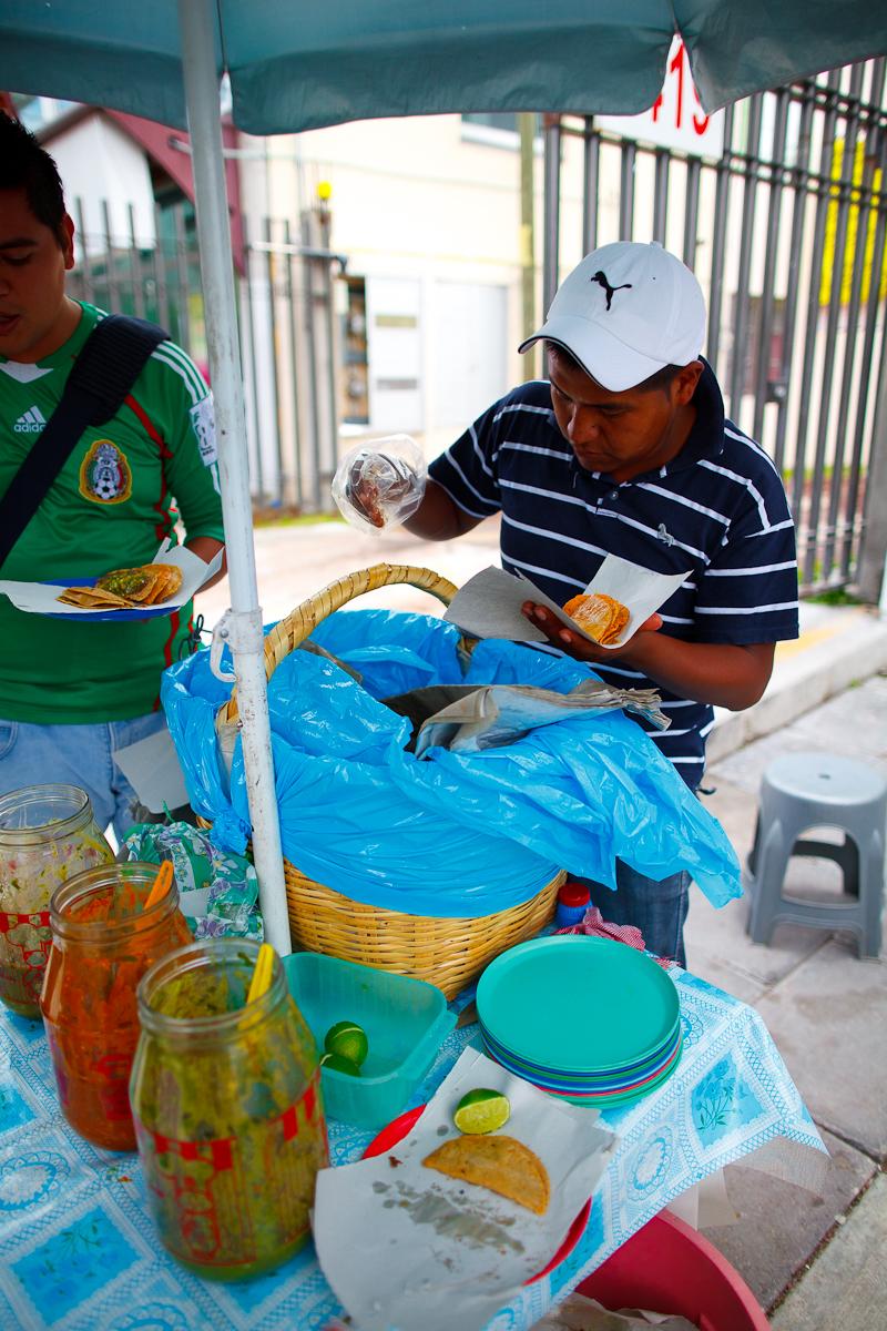 Tacos de Canasta (Basket tacos)