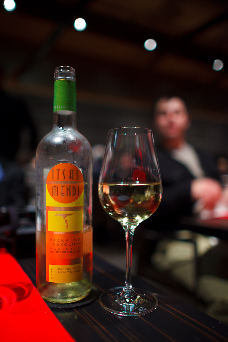 Bizkaiko Txakolina, Basque Wine