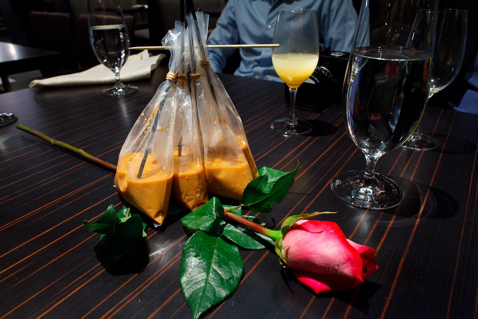 9th Course: Thai iced tea