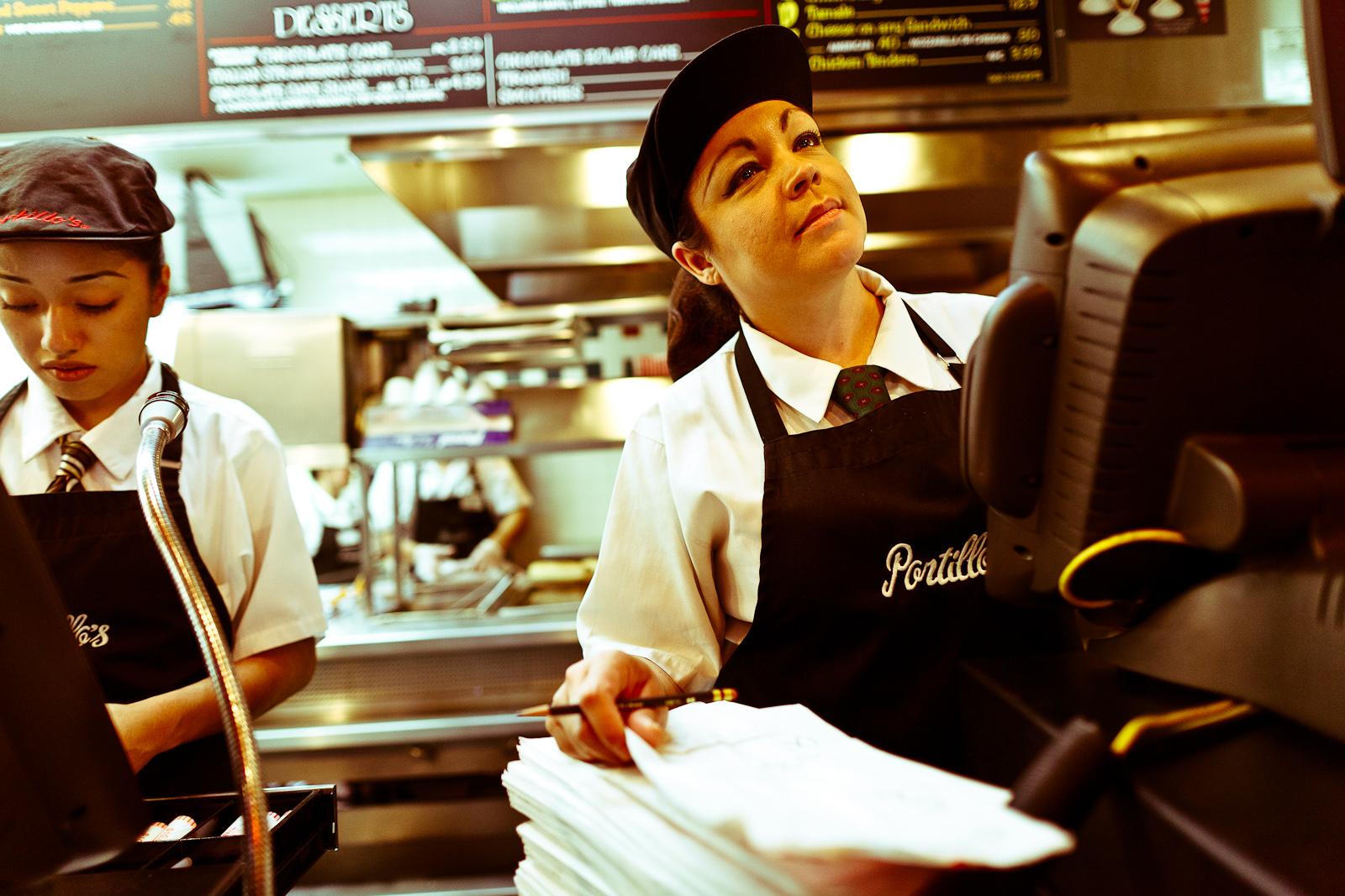Order time at Portillo's