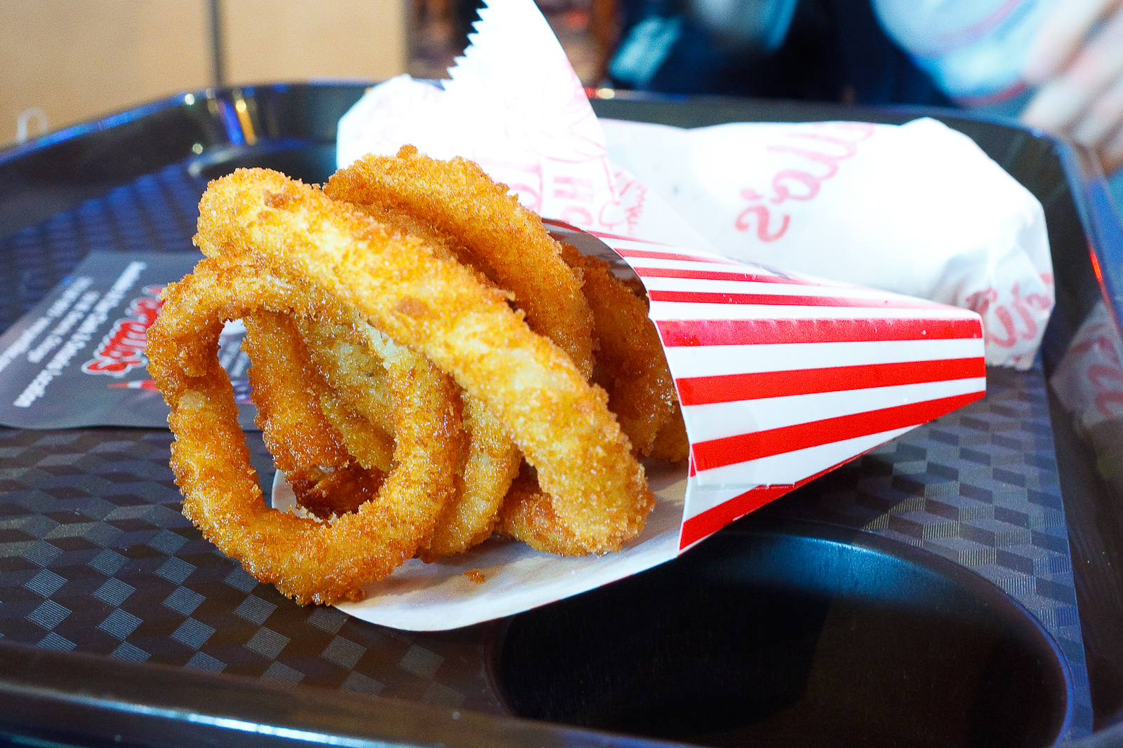 Side of onion rings ($1.99)