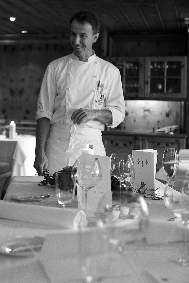 Chef André Faupel