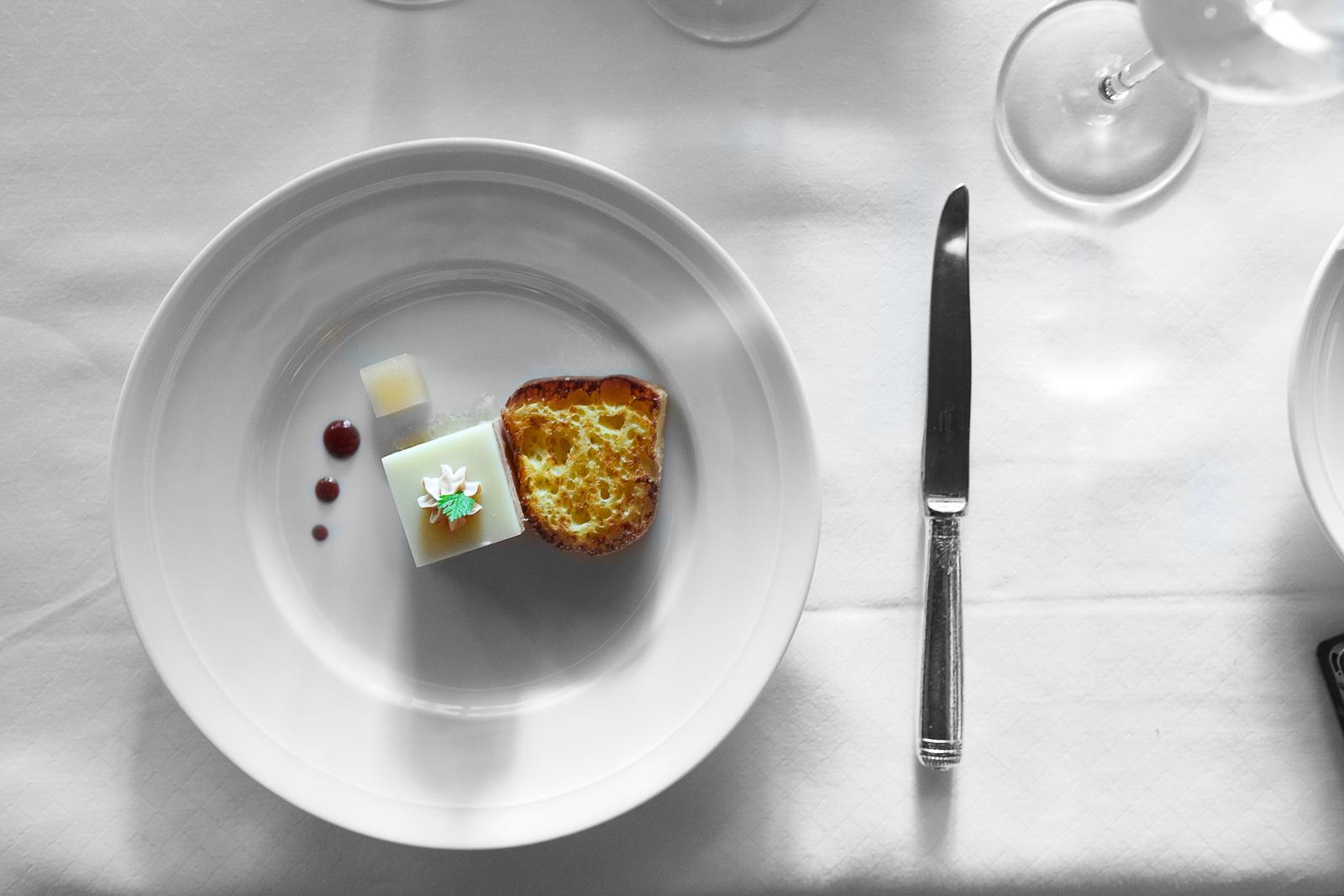 1st Course: Foie gras gelatin