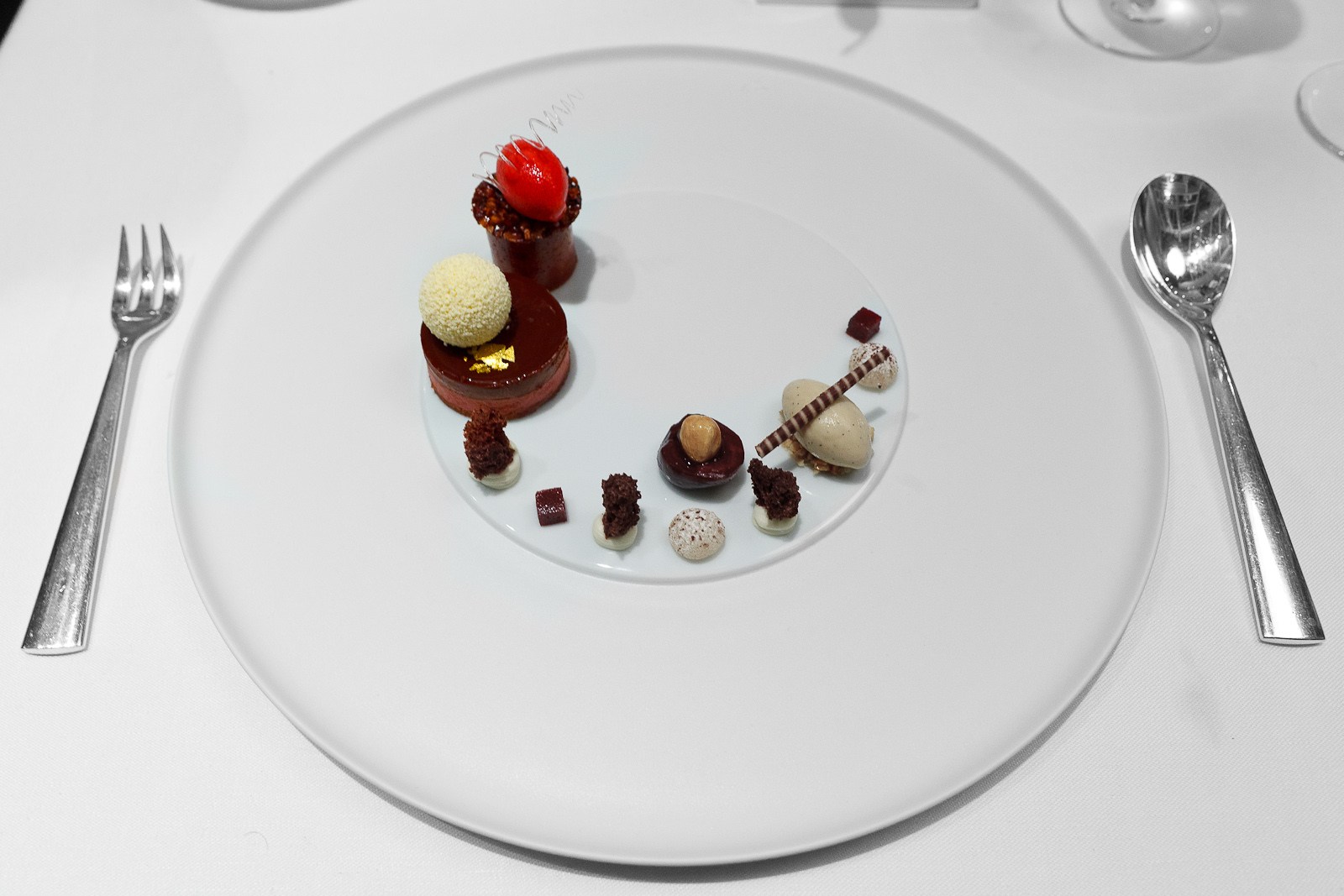 8th Course: Black forest gâteau, by Christian Bau