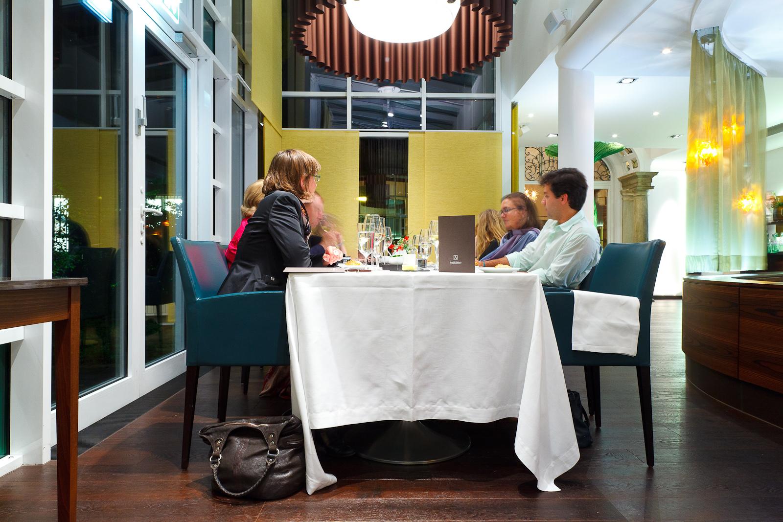 Dining room at Schlosshotel Lerbach
