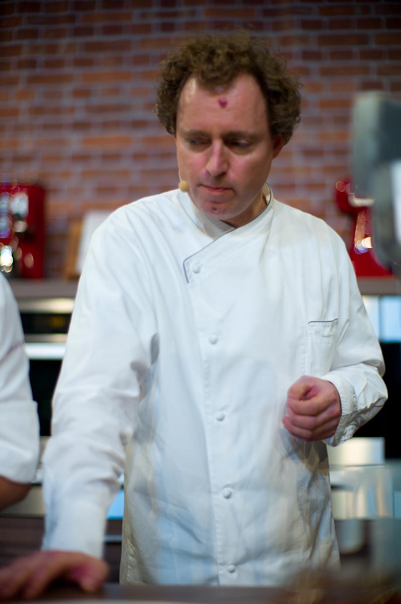Chef Sven Elverfeld Presenting, Aqua