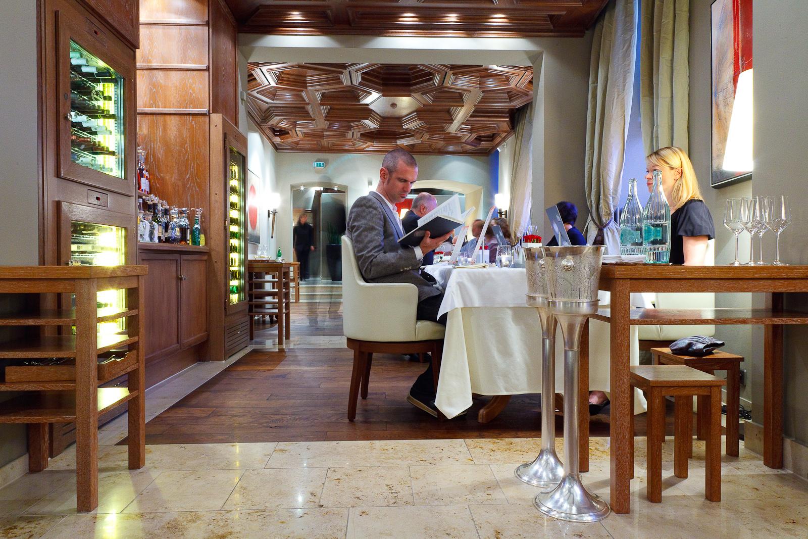 Dining room at Schloss Berg