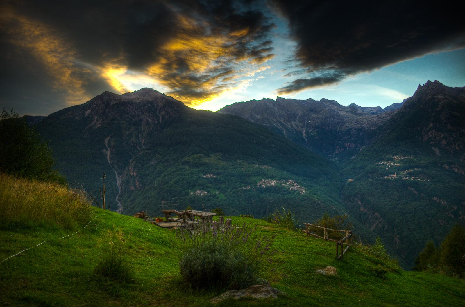 The perfect picnic spot, Presalbert, San Giacomo Filippo