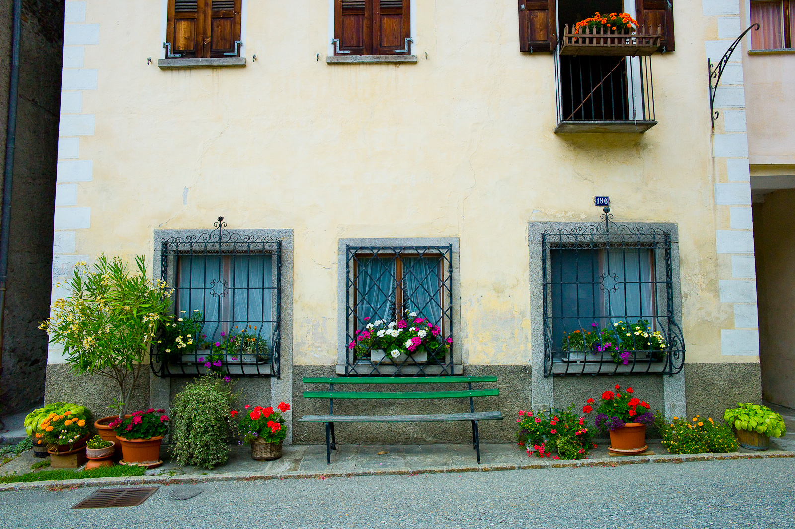 Are all Italian houses a photo opportunity?