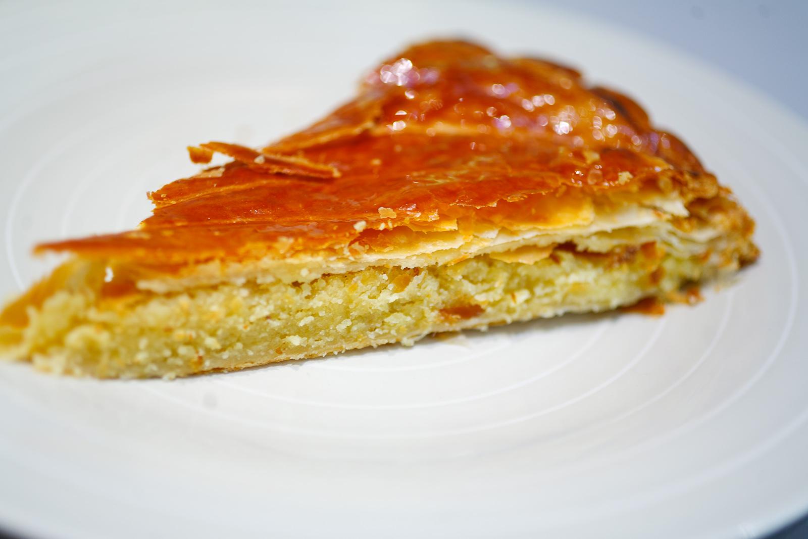 Galette des Rois (King cake), gros plan