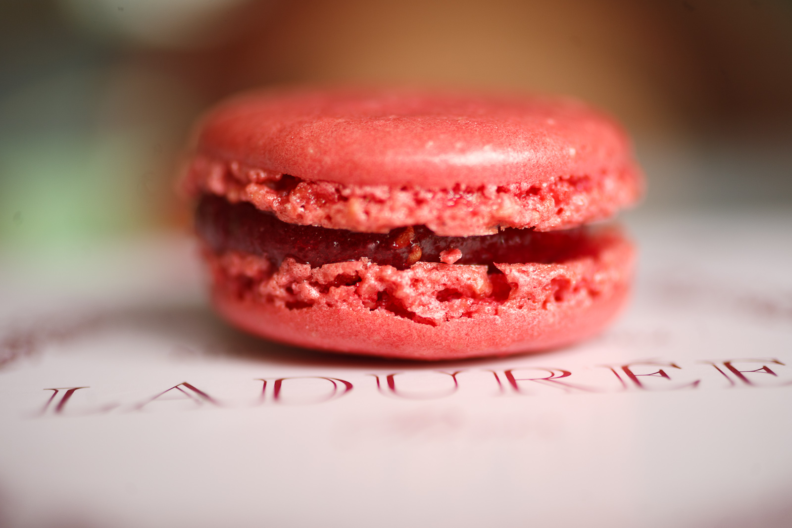 Macaron à la frambroise (raspberry)