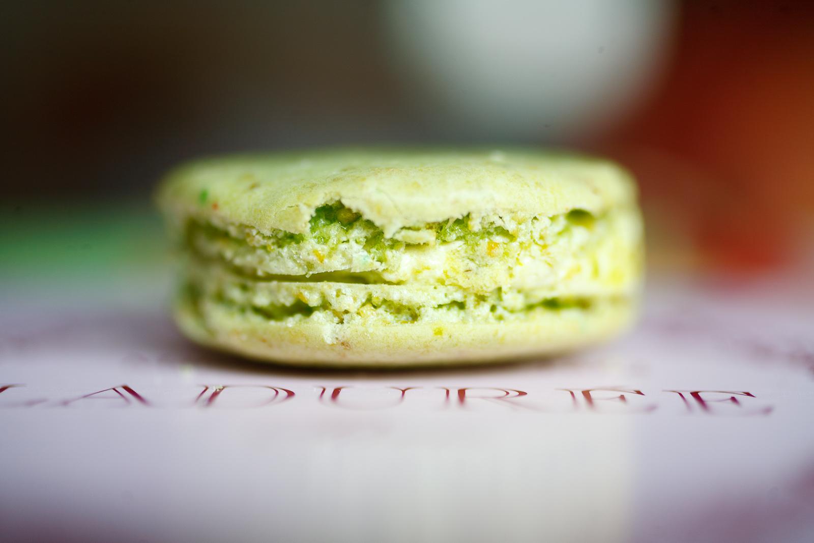 Macaron à la pistache (pistachio)