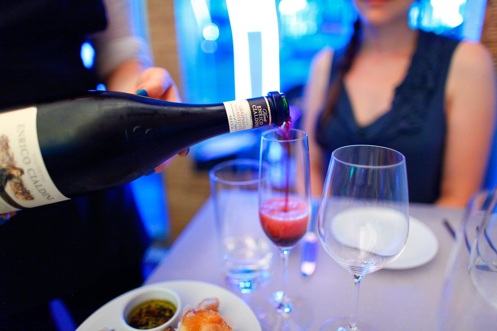 Cleto Chiarli Lambrusco - sparkling red wine ($5)