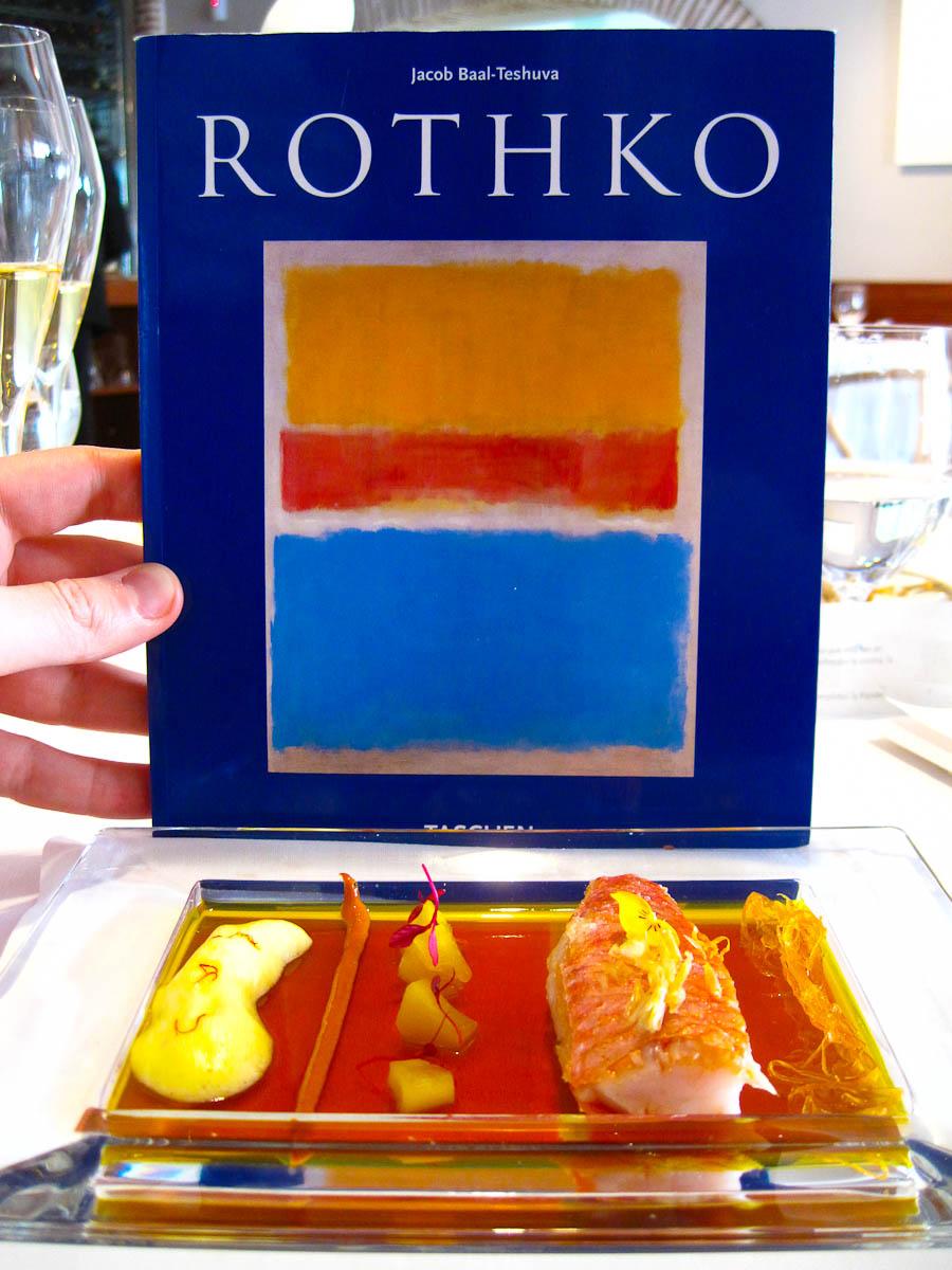 13th Course: Mark Rothko Saffron