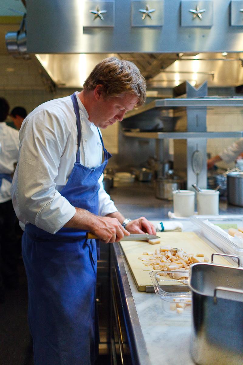 Portrait of Chef de Cuisine Timothy Hollingsworth