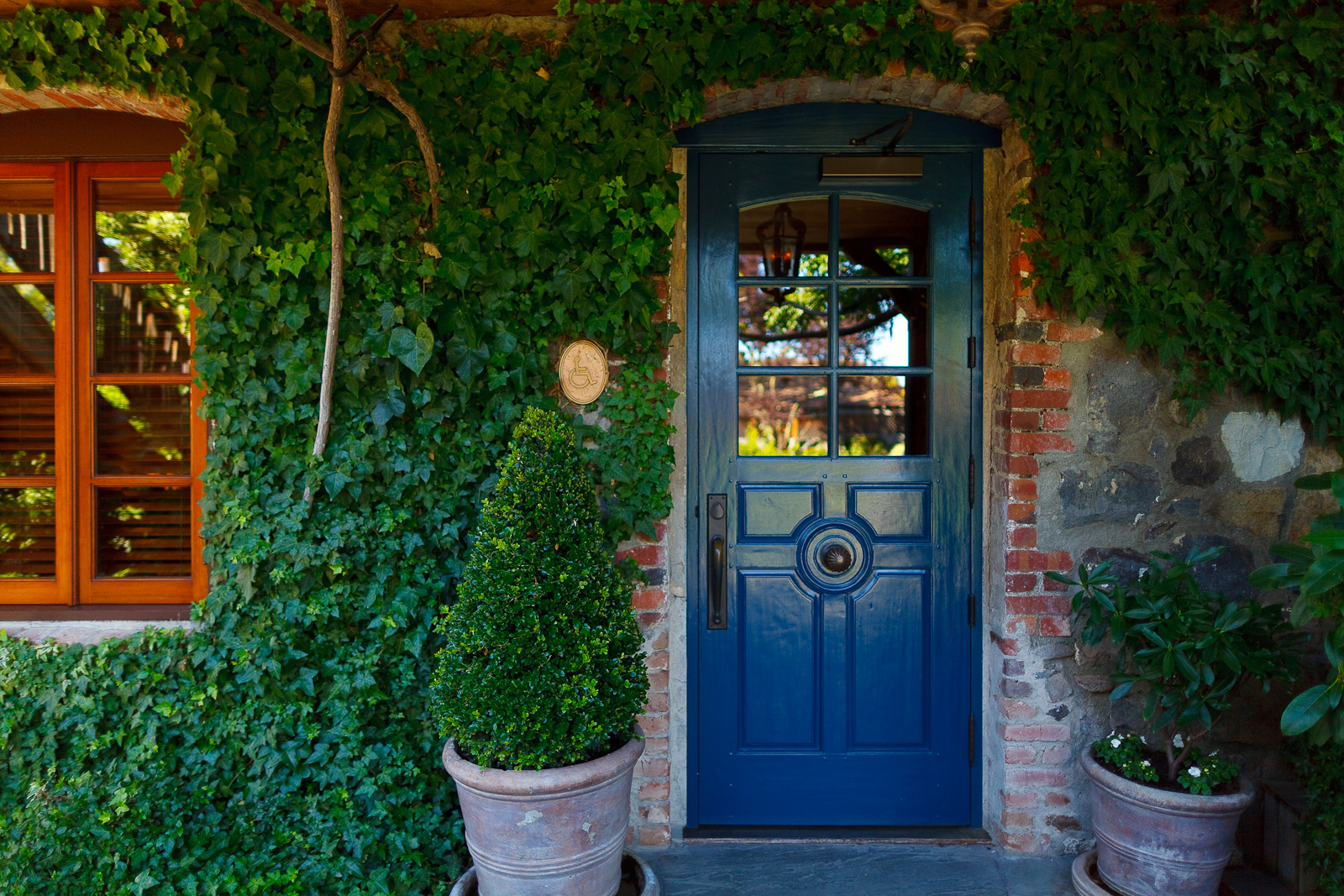 Entrance to the French Laundry