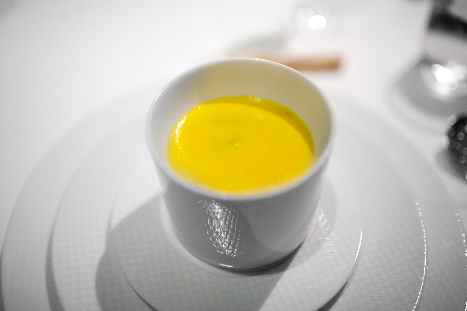 1st Course: La soupe de musquée de provence