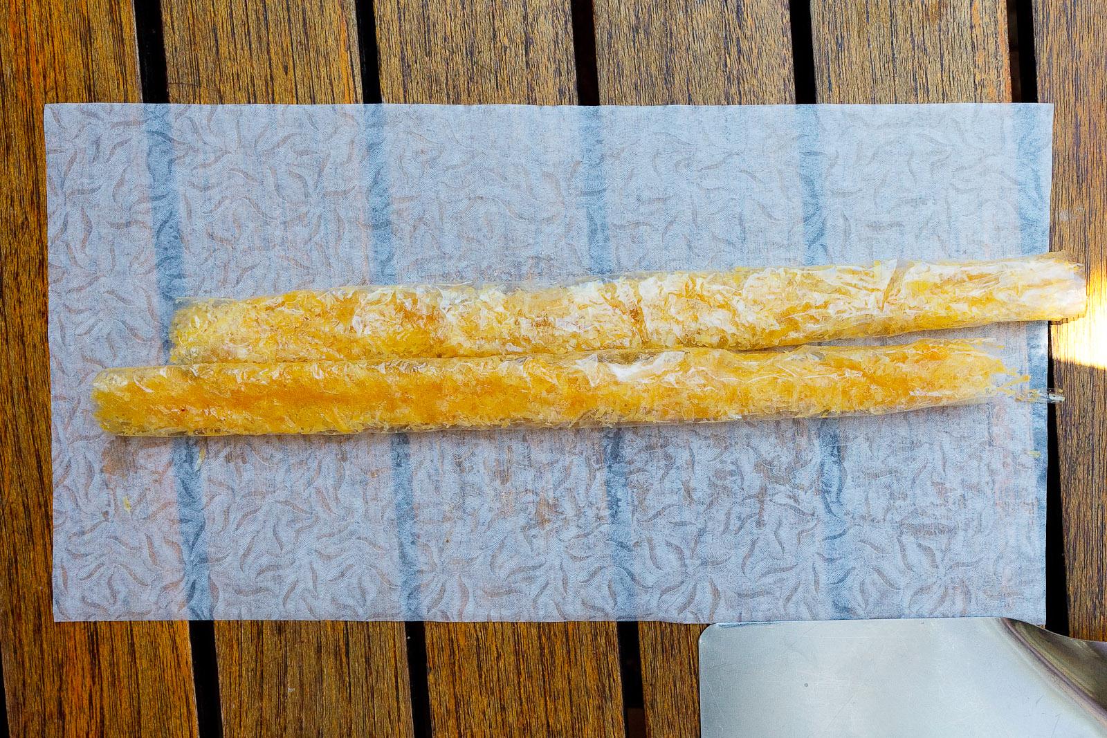 """7th Course: Parmesan cheese """"porra"""""""