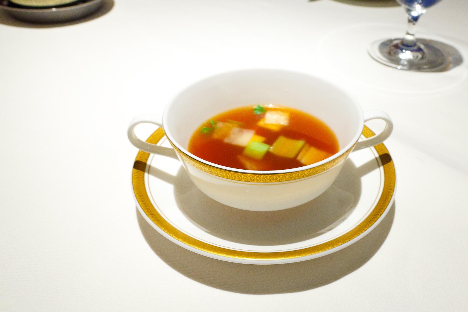 2nd Course: Potage à la Tortue Claire
