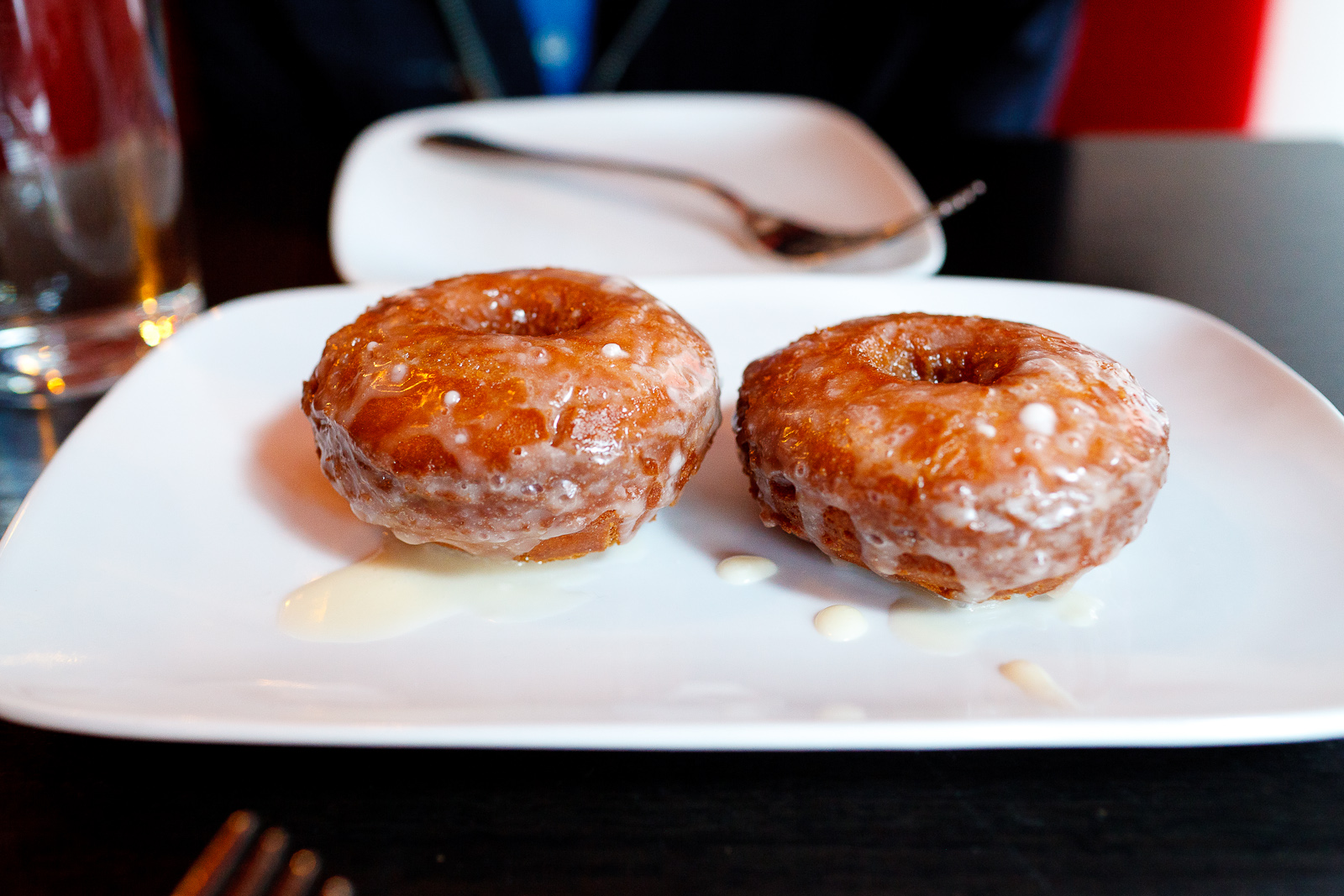Cider-glazed doughnuts, made to order ($6)