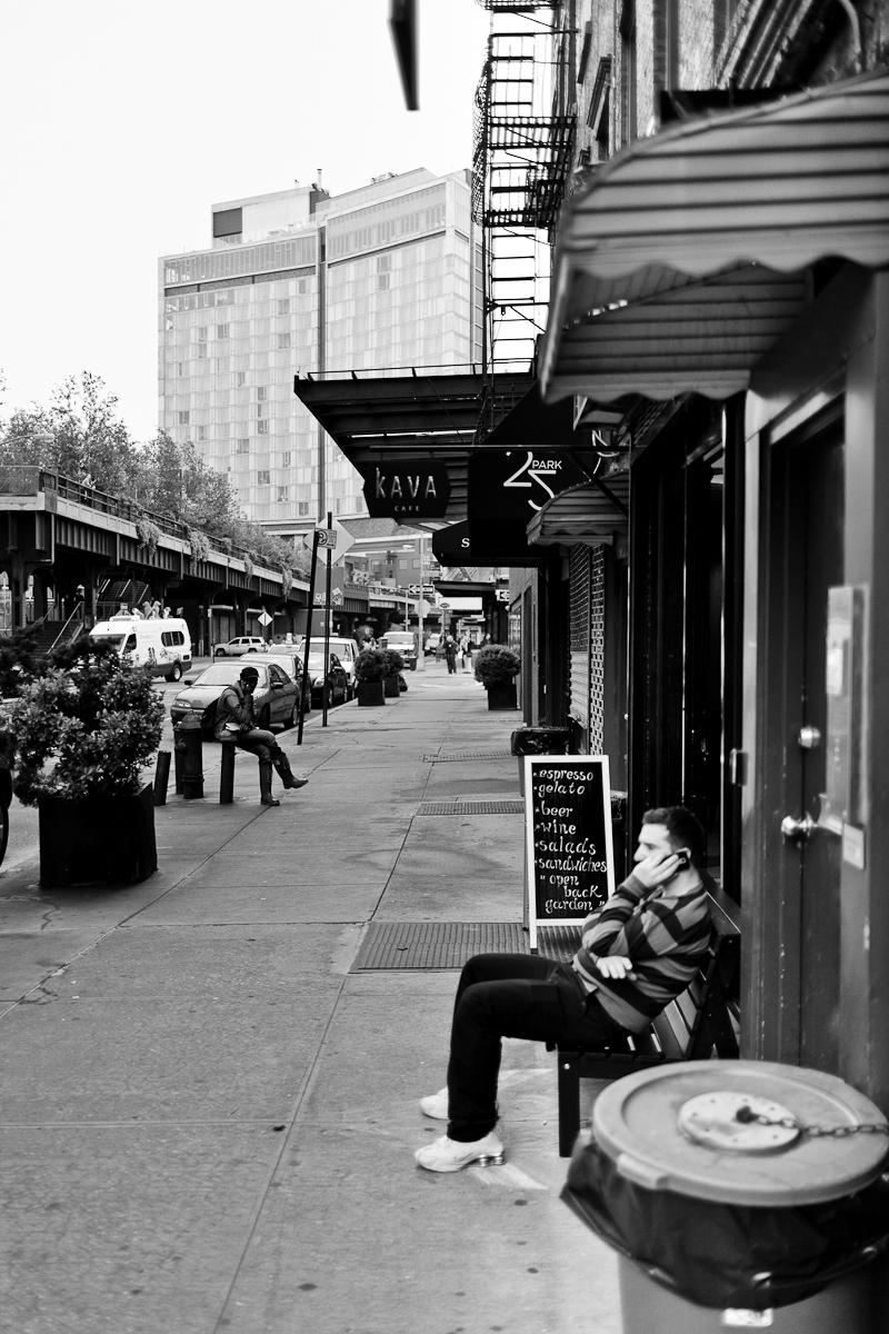 Outside Kava Cafe