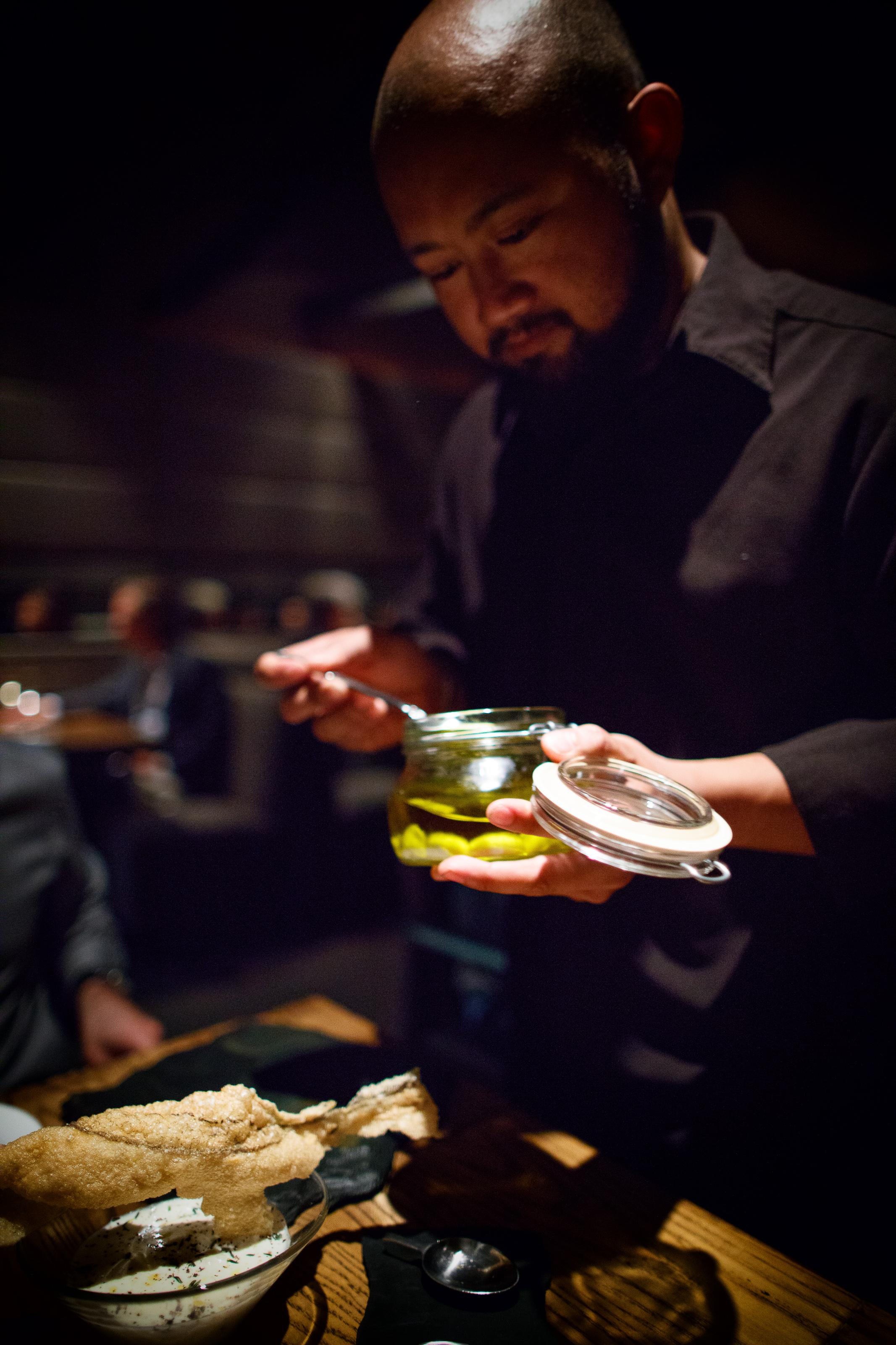Aceitunas de Albert Adrià (Albert Adrià's olives)