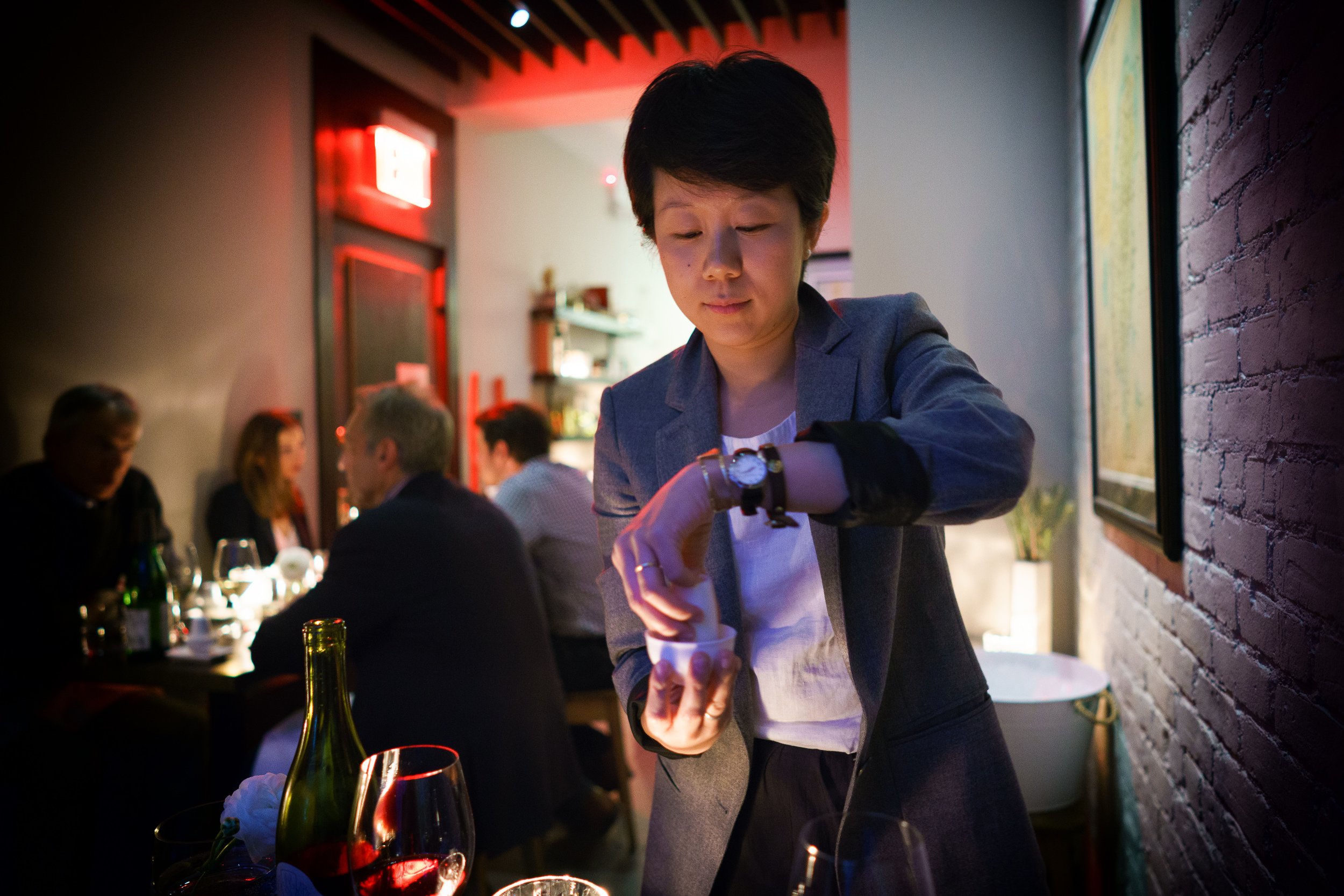 Co-owner Elena Liao