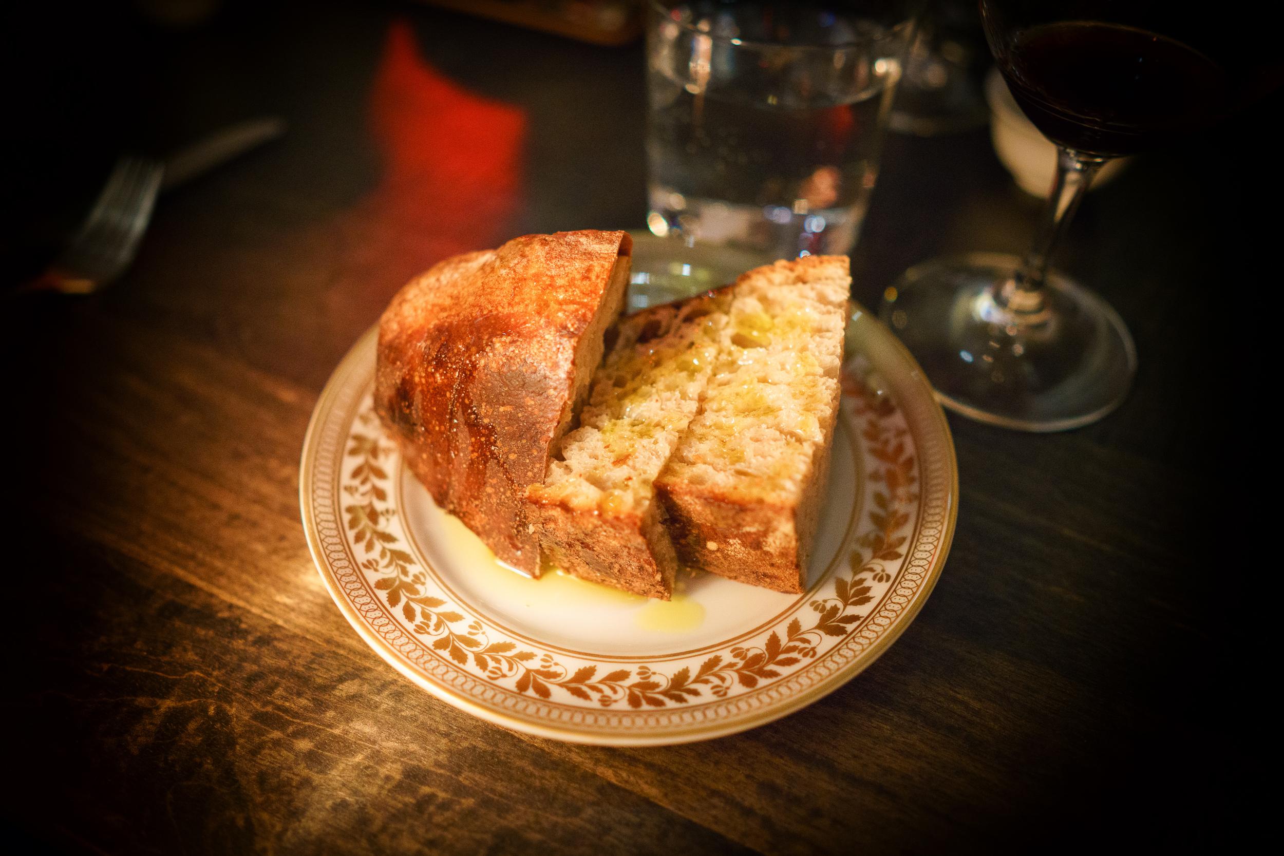 House-baked sourdough