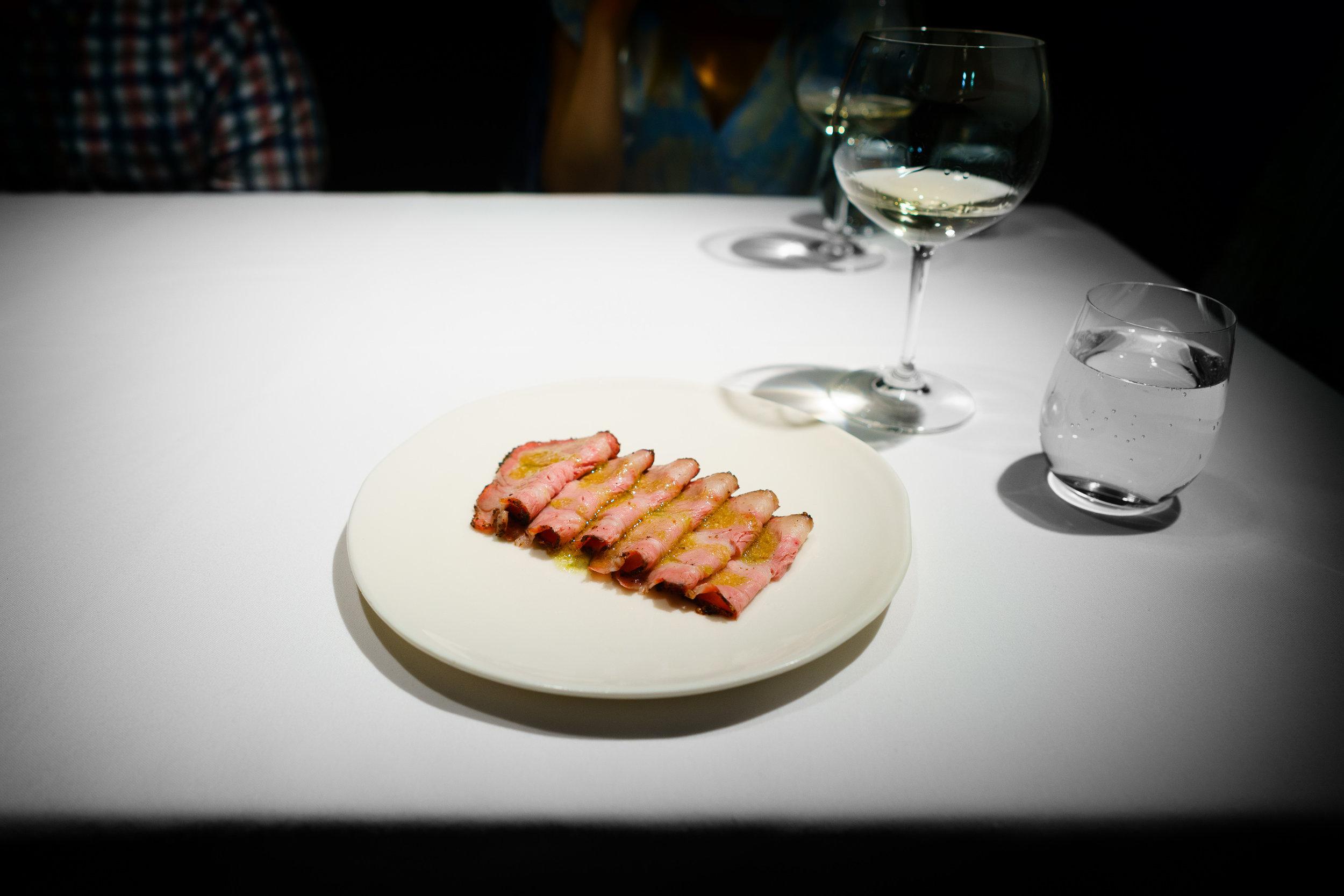 6th Course: Smoked Pork