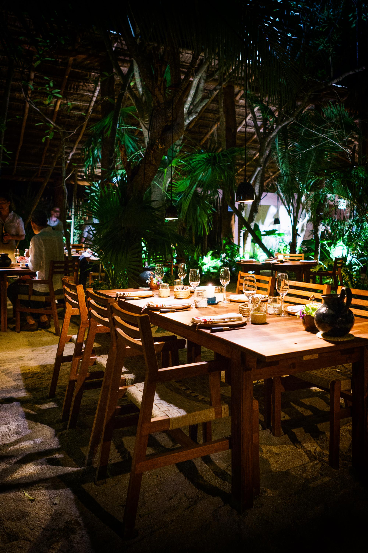 Dinner at Noma, Mexico