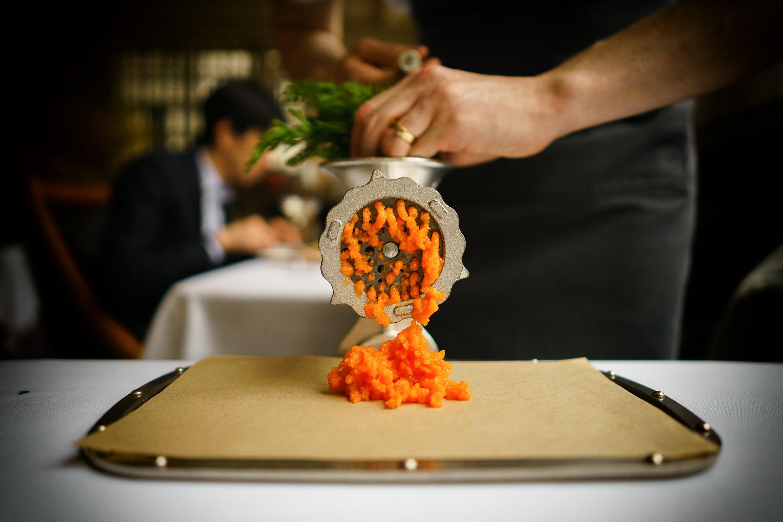 Carrot press