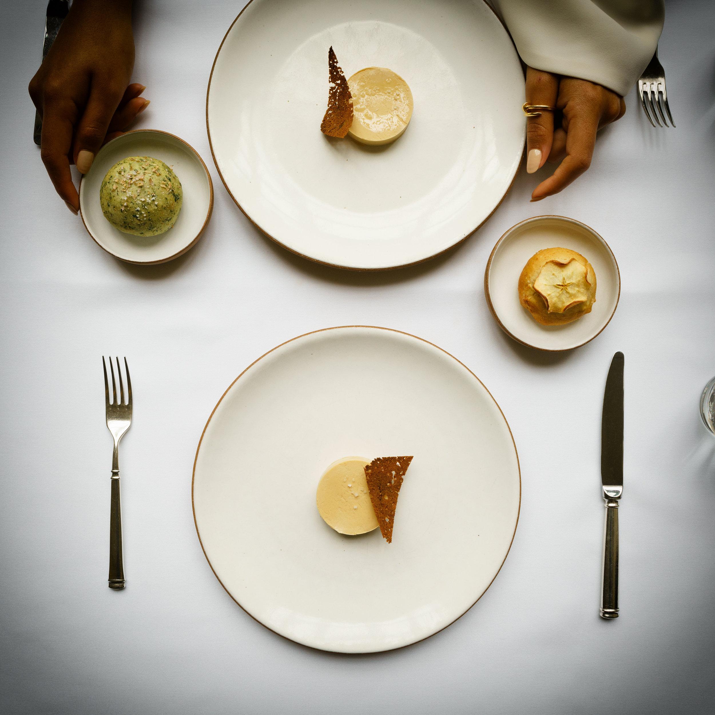 Foie Gras: torchon with maple syrup and pain d'épice (2004)