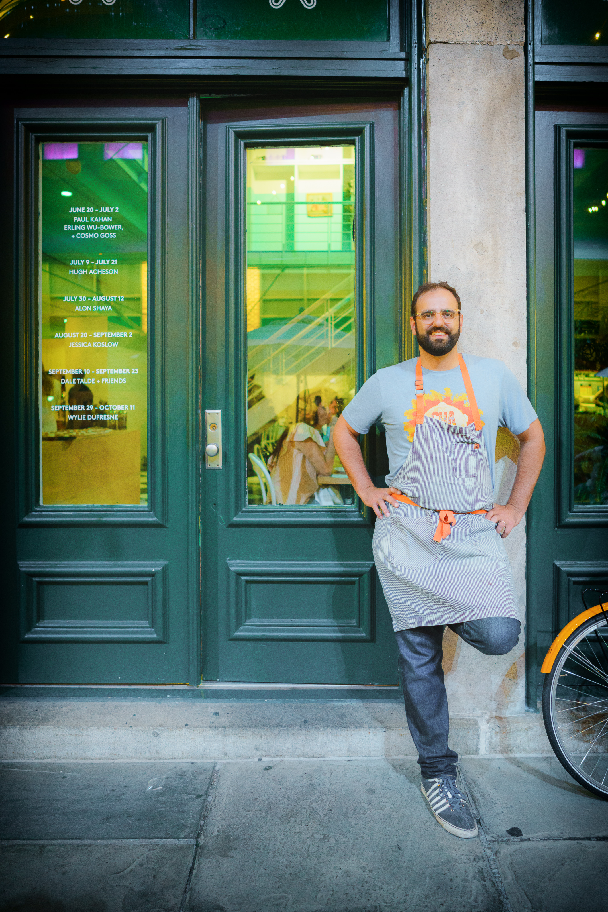 Portrait of chef Alon Shaya