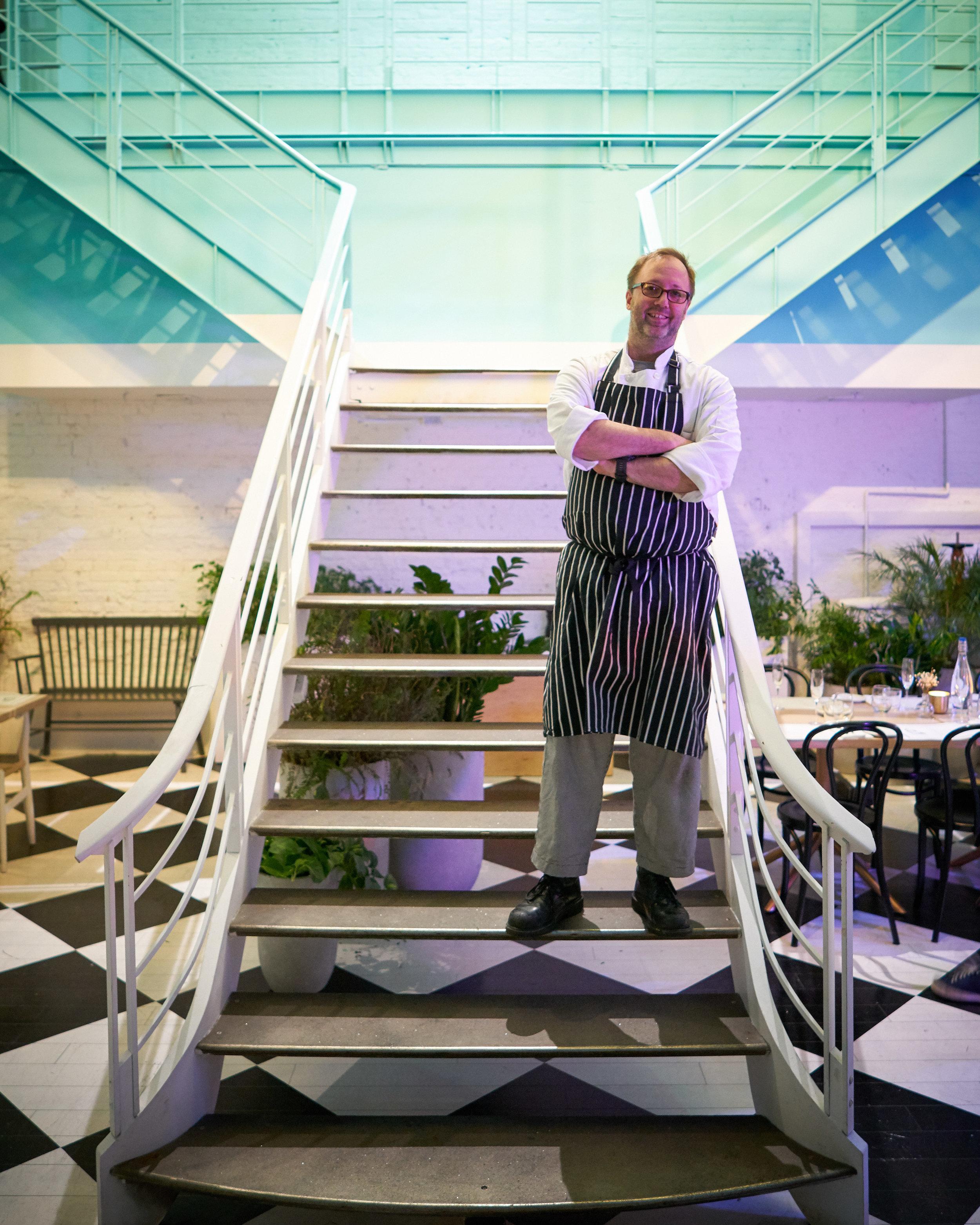 Portrait of Chef Wylie Dufrense