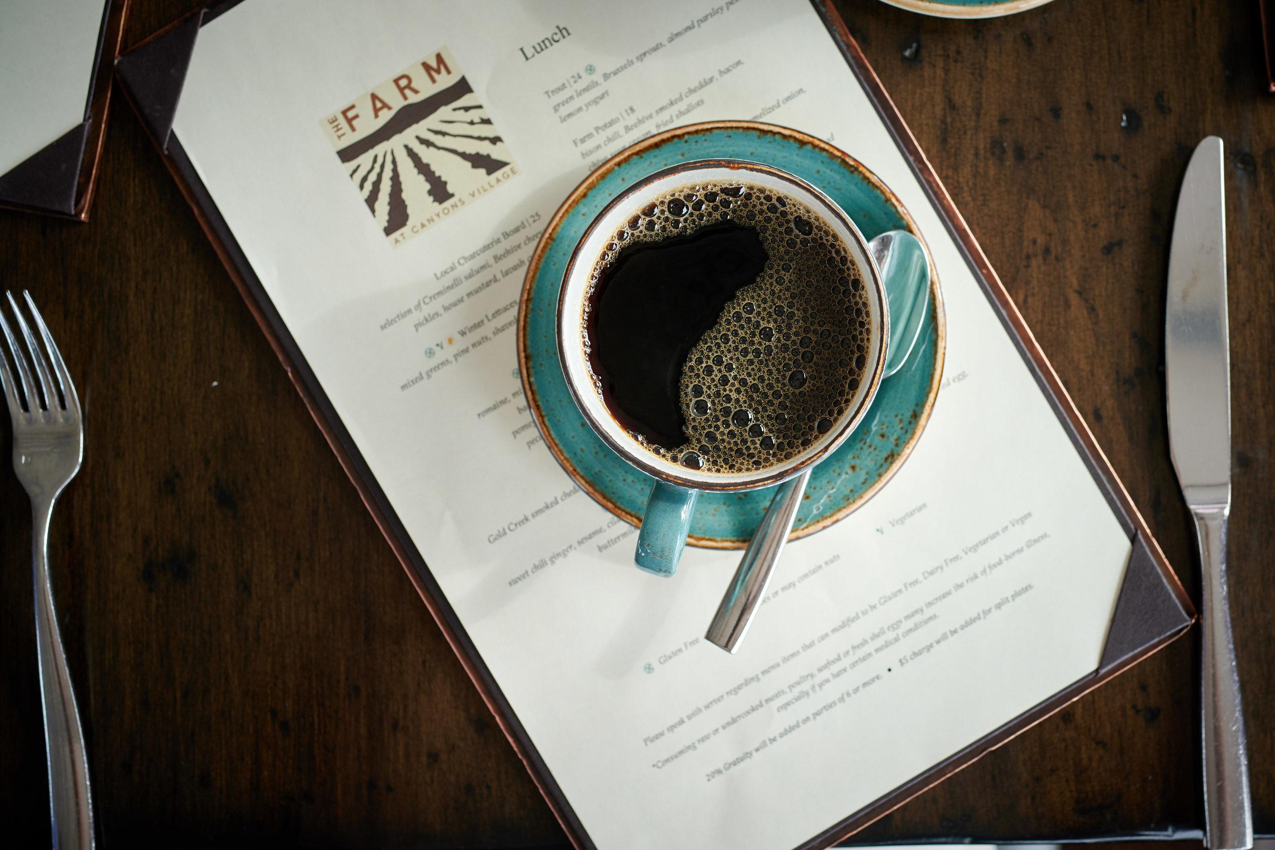 Drip Coffee at The Farm