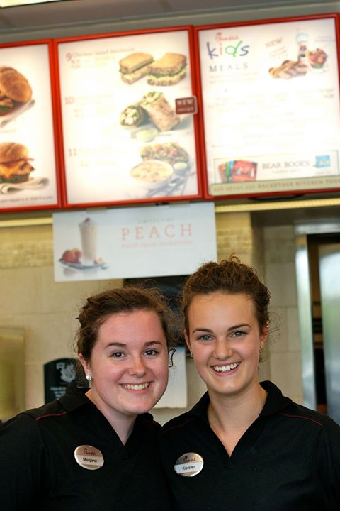Two of our Chick-fil-a workers