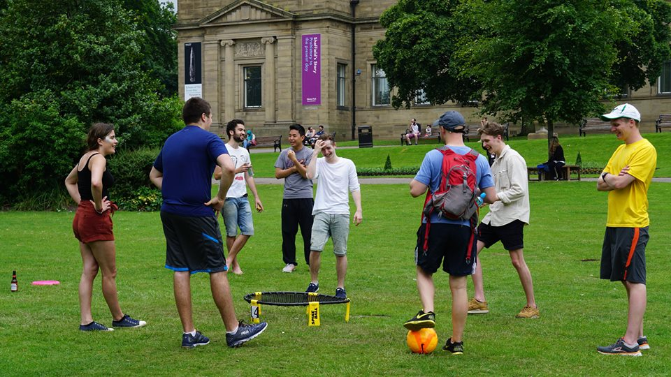 Spikeball bounces unto the Uni scene!