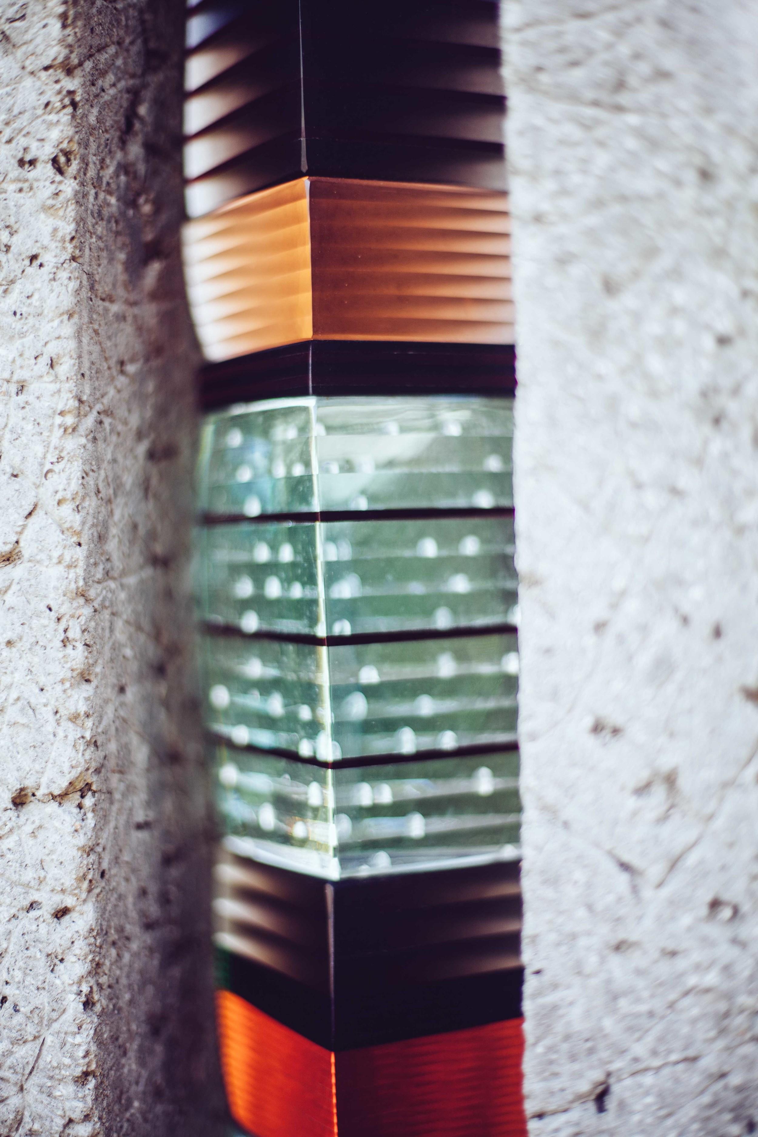Some cool glass art.