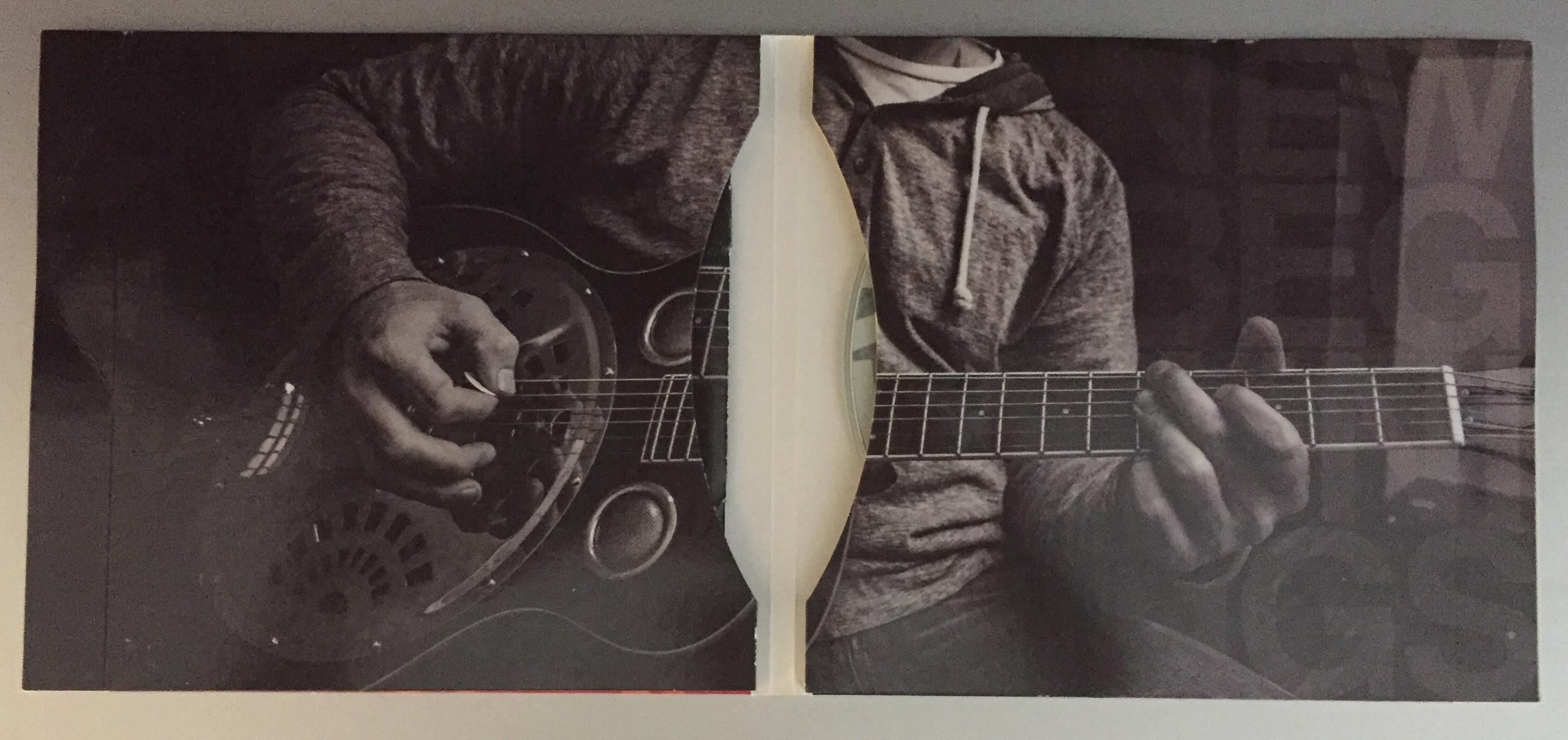 Featured, Josh Philips, New Beginnings, CD case