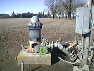irrigation well service: water level measurements, pump tests, aquifer test and water rights